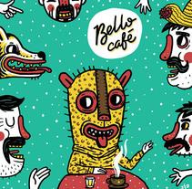 Cortinas Santa María la Ribera. Un proyecto de Diseño, Ilustración, Diseño de personajes, Tipografía y Arte urbano de jozedaniel - 19-12-2016