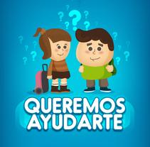 Camino Escolar Seguro. Queremos Ayudarte.. Um projeto de Design e Ilustração de Carlos Rueda         - 28.08.2016
