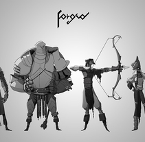 FORGED. A Character Design, and Comic project by Pablo Rocha Atrio - 28-08-2016