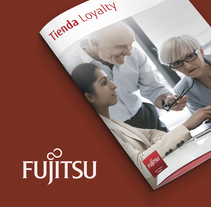 Folletos y catálogos Fujitsu. A Graphic Design, and Marketing project by Antonio Ufarte         - 28.08.2016