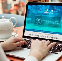 COIE UPM - Portal de prácticas. Un proyecto de UI / UX y Diseño Web de Nuria Muñoz - 29-08-2016