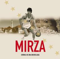 Documento de Venta de la película MIRZA. A Editorial Design, and Graphic Design project by María José Ruiz Navarro         - 30.08.2016