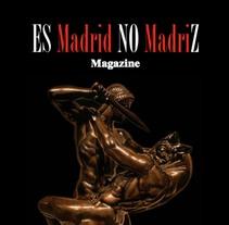 """Ilustración para la portada de la revista """"Es Madrid No Madriz"""".. A Illustration, Editorial Design, and Fine Art project by Jaime de la Torre         - 31.08.2016"""