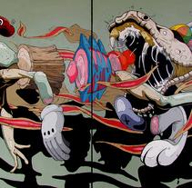 Hope. Un proyecto de Ilustración, Diseño de personajes, Bellas Artes y Pintura de Dhani Barragán - 03-12-2015