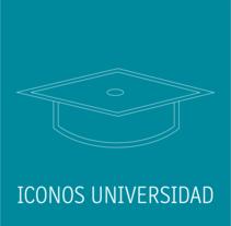 Iconos Académicos . Un proyecto de Diseño gráfico de Silvia  Durán Pérez - 07-05-2016
