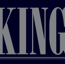 """Hola, Me dejaron de tarea diseñar un logo  usando la palabra """" king"""" el cual fuera dirigido a adultos.  Me gustaria saber su opinion, gracias. Um projeto de Animação de Paola Alvarenga - 11-09-2016"""