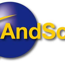 Banner AndSoft. Un proyecto de Publicidad, Diseño gráfico y Diseño Web de Ana Cristina Martín  Alcrudo - 16-03-2015
