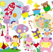 Vinilo: diseño para Sevilla campaña Navidad Operación Buena Gente de Cadena Ser. A Illustration, Advertising, Animation, Events, Graphic Design, Collage, TV, and Street Art project by errederaquel  - 21-09-2016