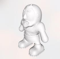 Diseño de Toy Art. Um projeto de 3D e Design de brinquedos de Fran Sánchez         - 21.09.2016