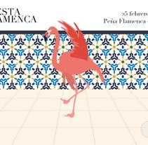 Fiesta Flamenca. Un proyecto de Ilustración, Fotografía y Diseño gráfico de Sergio Mora         - 04.06.2015