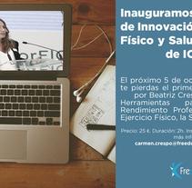 freedomandflowcompany. Un proyecto de Diseño de Beatriz Criado         - 27.09.2016