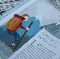 Trabajos para revistas. Um projeto de Ilustração e Design editorial de Marta Jiménez - 27-09-2016