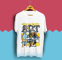 DOPE MAGAZINE T-SHIRT. A Illustration, Character Design, and Product Design project by Jhonny  Núñez - Oct 01 2016 12:00 AM