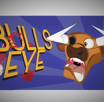 Bullseye ilustración . A Illustration, Character Design, Game Design, and Graphic Design project by Maximiliano Casco         - 03.10.2016