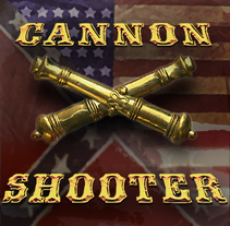 Cannon Shooter. A UI / UX, 3D, Animation, and Character Design project by Richard Alston - 05-10-2013