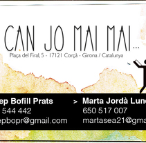 Can jo mai mai. A Design, Advertising, Art Direction, and Graphic Design project by Ingrid Riera Prunés - 05-10-2016