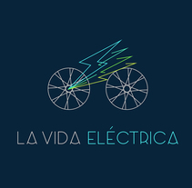 La Vida Eléctrica. Identidad Visual.. A Br, ing, Identit, and Graphic Design project by Patricia Rueda Sáez - 06-10-2016
