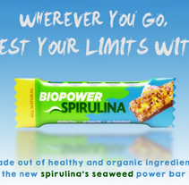 Spot Biopower Spirulina. A Advertising, Music, Audio, Film, Video, TV, 3D, Animation, Art Direction, Marketing, Multimedia, Post-Production, Product Design, Video, and TV project by Marc Cormand Fernandez - 06-10-2016