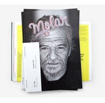 DISEÑO EDITORIAL / REVISTA MOLAR #2. Un proyecto de Ilustración, Br, ing e Identidad, Diseño editorial y Diseño gráfico de Nacho Evangelisti / Graphic Design Studio         - 11.03.2016