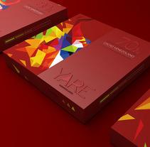 Yare Chocolates. Um projeto de 3D, Br, ing e Identidade, Design gráfico e Packaging de Carolina Salazar         - 16.10.2016