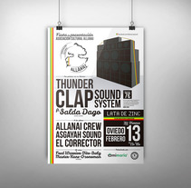 Cartel · Asociación Cultural Allanai. A Graphic Design project by Cristina L. N. - 12-02-2015