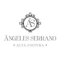 Actualización logo Ángeles Serrano Alta Costura. Um projeto de Br e ing e Identidade de María González Sánchez         - 24.04.2015