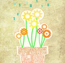 Cartel Fundación Acquae. Un proyecto de Ilustración y Diseño gráfico de Carmen Somovilla Moreno - 19-10-2016