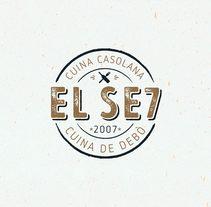 El Set – identidad. Um projeto de Design, Direção de arte, Br e ing e Identidade de Andrés Merizalde         - 26.10.2016