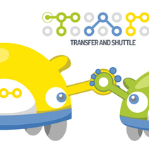 Transfer & Shuttle - mascotas. A Character Design project by Herbie Cans - 19-12-2013