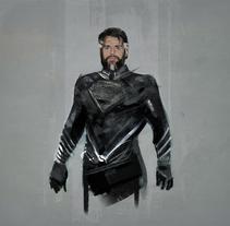 Superman Black suit / Henry Cavill. Un proyecto de Diseño de personajes y Cine de Ismael Alabado Rodriguez - Martes, 01 de noviembre de 2016 00:00:00 +0100