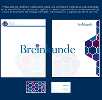 Identidad Breinkunde . Un proyecto de Br e ing e Identidad de Mayte Molina         - 09.10.2013