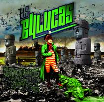 portada disco musical+ logo LAS BULUCAS /cumbia-ska. A Design, Illustration, Music, and Audio project by Juan Navarro Lorente - 06-11-2016