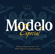 Rebrand Modelo . A Advertising, Art Direction, Industrial Design, T, and pograph project by Héctor  Mendoza - 15-07-2015