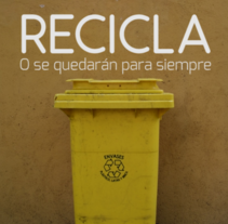 1er. Premio de la III Edición del concurso Upcycling de fotografía y vídeo sobre reciclaje (2015).. A Film, Video, and TV project by Miguel Ángel González - 29-09-2015