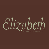 Tipografía Elizabeth. A T, and pograph project by Bauertypes  - 13-11-2016