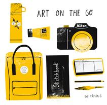 SKETCHBOOK. Un proyecto de Diseño e Ilustración de Tània García Jiménez - 14-11-2016