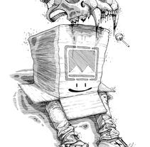 Ink Drawings. Un proyecto de Ilustración, Diseño de personajes y Bellas Artes de Dhani Barragán - 14-11-2016