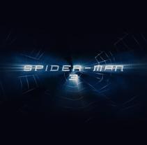 SPIDERMAN 3 Main titles. Un proyecto de Cine, vídeo, televisión, 3D, Animación y Diseño de títulos de crédito de Fernando Domínguez Cózar - 21-11-2008