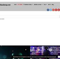 Mejores vídeos de batallas de rap en español. A Web Design project by Alberto lorenzo         - 22.11.2016