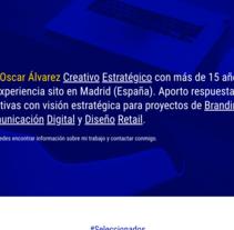 Mi Proyecto del curso: Creación de una web profesional con WordPress. Um projeto de UI / UX e Web design de Oscar Alvarez Vazquez         - 27.11.2016