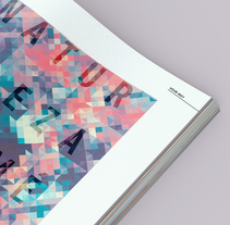 Revista Voir. A Design, Editorial Design, Graphic Design, T, and pograph project by Mariana López Neugebauer - 30-11-2013