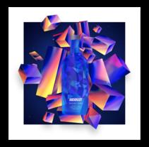 Absolut night. Um projeto de Animação, Direção de arte e Design gráfico de DSORDER  - 30-11-2016