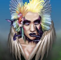 wing. Un proyecto de Ilustración de David Quintana         - 05.12.2016