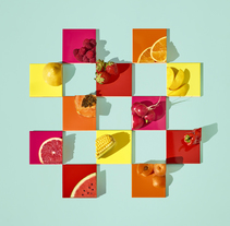 Fruit Tiles. A Photograph, and Art Direction project by Paloma Rincón - 09-11-2016