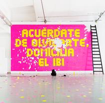 Pixel Art Agencia Tributaria Madrid. Un proyecto de Diseño, Publicidad, Instalaciones, Fotografía, Dirección de arte, Diseño gráfico, Marketing, Post-producción, Escenografía, Tipografía, Collage, Cop, writing, Vídeo y Stop Motion de offbeatestudio - 14-12-2016
