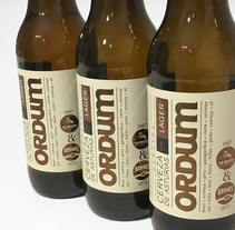 Cerveza Ordum. A Graphic Design, and Packaging project by Juan Jareño  - 14-12-2016