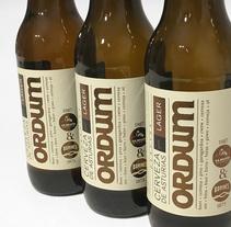 Cerveza Ordum. Un proyecto de Diseño gráfico y Packaging de Juan Jareño  - 14-12-2016