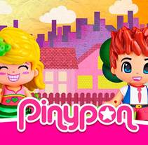 Pinypon. Un proyecto de Diseño, Publicidad, UI / UX, Dirección de arte, Diseño gráfico y Diseño Web de Almu Muñoz - 15-12-2016
