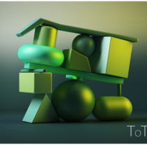 TOTEM . A 3D, and Animation project by Nanny Mouro         - 29.12.2016