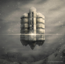 Frontier. Um projeto de Ilustração, 3D e Direção de arte de Luis Miguel Galache         - 01.01.2017